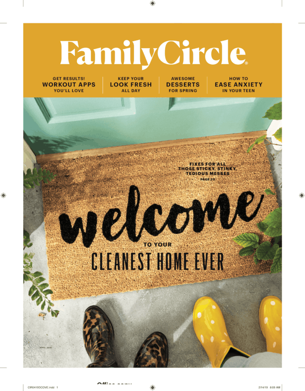 $1.00 for Family Circle Magazine (expiring on Wednesday, 10/02/2019). Offer available at Walmart.