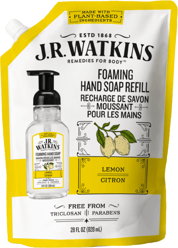 $1.00 for JR Watkins Hand Soap Refill (expiring on Saturday, 09/04/2021). Offer available at Target, Target Online.