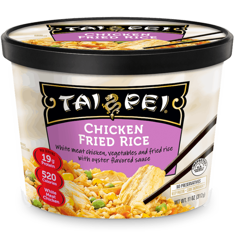 $1.00 for Tai Pei Single Frozen Entrée (expiring on Friday, 04/30/2021). Offer available at Target, Target Online.